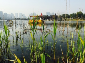 wuhan-sand lake park